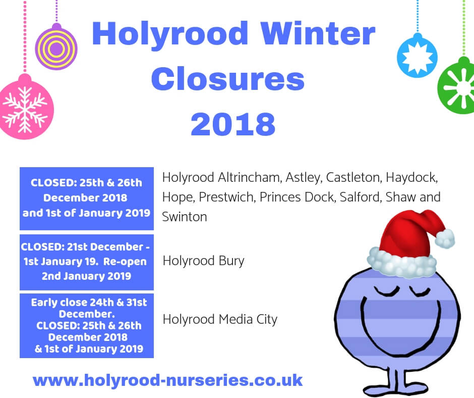 Holyrood Winter Closures 2018 (2)